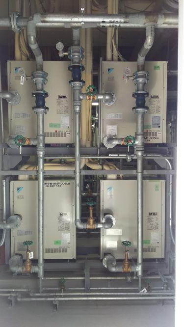 水熱源・ビルマルチ点検作業